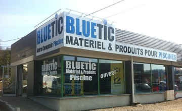 Photo du magasin BLUETIC à Altkirck près de Mulhouse en Alsace.